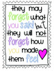 Classroom Inspirational Sayings-Posters