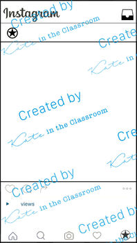 Classroom Instagram Board and Printable