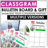 Class Gram Bulletin Board | End of the Year Student Gift | Digital