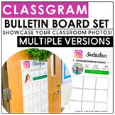 Class Gram Bulletin Board | Classroom Community