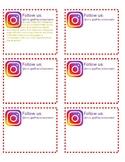 Classroom Instagram Label