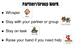Classroom Instruction Procedures with visuals