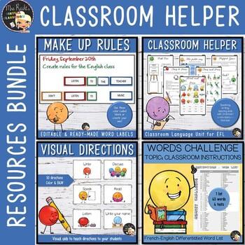 Classroom Instructions Unit - Resources Bundle