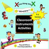 "Classroom Instrument Play Along to ""Happy"" Pharrell Williams: K-2 Version"