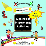 "Classroom Instrument Play Along to ""Happy"" Pharrell Willia"