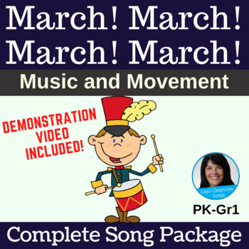 Classroom Instrument Song | March! March! March! March! | Complete Song Package