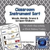 Classroom Instrument Sort