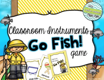 Classroom Instruments Go Fish! Card Game