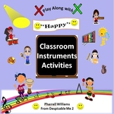 "Classroom Instruments Play Along with ""Happy"" Pharrell Wil"
