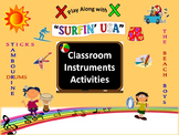 "Classroom Instruments Play Along with ""Surfin' USA"" by The"