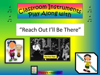 """Classroom Instruments Play Along with The Four Tops: """"Reac"""