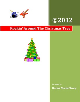Rockin Around Christmas Tree.Classroom Instruments Play Along Holiday Music Rockin Around The Christmas Tree