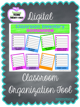 Digital Classroom Inventory Snapshot (Google Drive Resource)