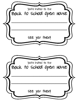 Classroom Invitations