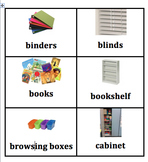 Classroom Items Labels with Pictures