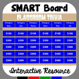 Trivia Game for SMART Board for ANY Subject Area - EDITABLE