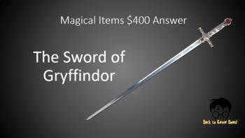 Classroom Jeopardy: Harry Potter & the Chamber of Secrets