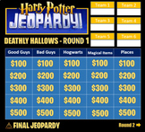 Harry Potter Jeopardy: The Deathly Hallows, Part 2