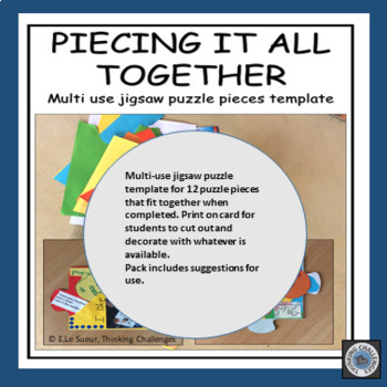 Classroom Jigsaw: Putting it all together