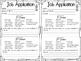 Classroom Job Application {FREEBIE}