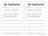 Classroom Job Application_Classroom Management