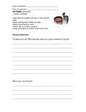 Classroom Job Applications and Detailed Descriptions