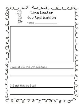 Classroom Job Applications