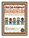 Classroom Job Application Assignment
