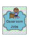 Classroom Job Basic Blue