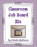 Classroom Job Board {Canadian Edition} (Editable)