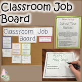 Classroom Job Board Graphics for a Middle School Bulletin Board