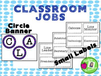 Classroom Job Bundle