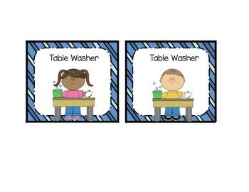 Classroom Job Cards {17 Job Titles!} Boy + Girl Job Cards Included!