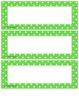 Classroom Job Cards Lime Green
