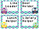 Classroom Job Cards Owls