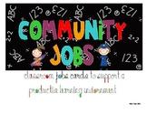 Classroom Job Cards: Promoting a Productive Classroom