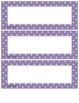 Classroom Job Cards Purple