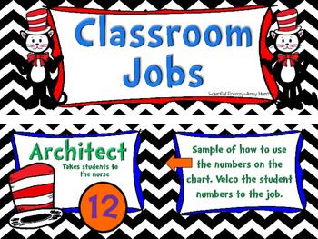 Job Chart with Real Life Job Titles