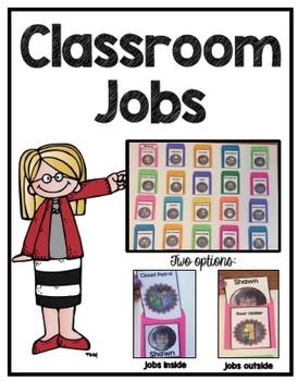 Classroom Job Chart (Editable Option too)
