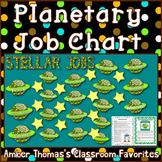 Planetary Classroom Jobs Chart