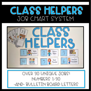 Classroom Jobs {Classroom Helper Management System}