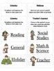 Classroom Job Chart labels