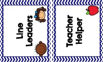 Classroom Job Clip Chart