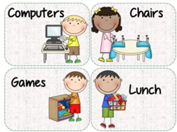 Classroom Job Hanging Chart