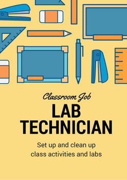 Classroom Job - Lab Technician
