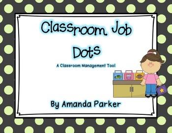 Classroom Job Management Posters
