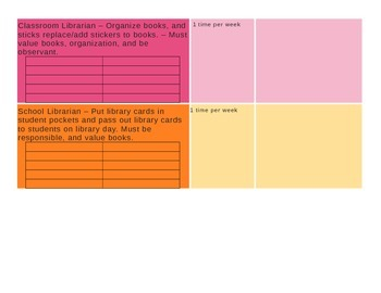 Classroom Job Management System