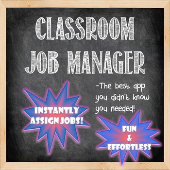 Classroom Job Manager