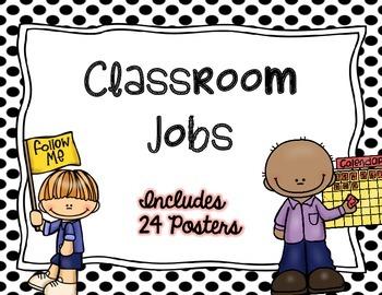 Classroom Job Posters