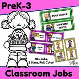 Classroom Job Set - 40+ Jobs for Preschool and Primary Grades